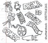 an image of notebook paper...   Shutterstock .eps vector #1007516161