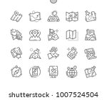 maps well crafted pixel perfect ... | Shutterstock .eps vector #1007524504
