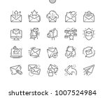 email well crafted pixel... | Shutterstock .eps vector #1007524984