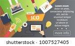 it startup crowdfunding.... | Shutterstock . vector #1007527405