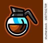 coffee pot vector  | Shutterstock .eps vector #1007532709