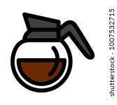 coffee pot vector  | Shutterstock .eps vector #1007532715