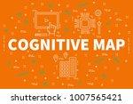 conceptual business... | Shutterstock . vector #1007565421