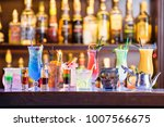 set of cocktails at the bar | Shutterstock . vector #1007566675