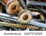close up of old oxidized metal... | Shutterstock . vector #1007576509