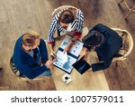 small group of business people... | Shutterstock . vector #1007579011