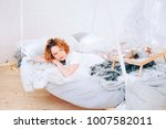 relaxed lifestyle. happy young... | Shutterstock . vector #1007582011