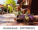 wedding decoration ceremony.... | Shutterstock . vector #1007586331