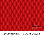 red abstract background vector... | Shutterstock .eps vector #1007599615