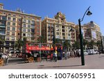 malaga  andalusia  spain   july ...   Shutterstock . vector #1007605951