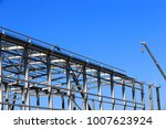 The Steel Frame Structure Is...