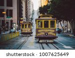 classic panorama view of... | Shutterstock . vector #1007625649
