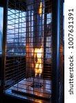 outdoor gas patio heater tower | Shutterstock . vector #1007631391