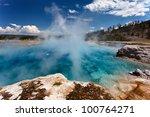 Stunning Scene In Yellowstone Np