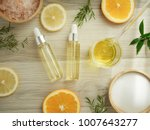 natural cosmetic skincare serum ... | Shutterstock . vector #1007643277