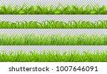spring green grass  seamless... | Shutterstock .eps vector #1007646091