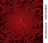 Red Seamless Background With...