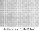 white and grey the tile wall... | Shutterstock . vector #1007651671