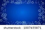 bath foam on gradient... | Shutterstock .eps vector #1007655871
