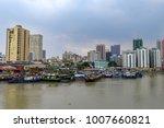 jan 21 2018 manila landscape...   Shutterstock . vector #1007660821