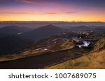 beautiful sunrise view point at ... | Shutterstock . vector #1007689075
