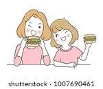 vector illustration character... | Shutterstock .eps vector #1007690461