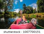 christchurch  new zealand  ...   Shutterstock . vector #1007700151