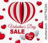 sale poster design for... | Shutterstock .eps vector #1007702281