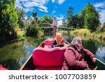 christchurch  new zealand  ...   Shutterstock . vector #1007703859