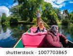 christchurch  new zealand  ...   Shutterstock . vector #1007703865