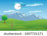 vector cartoon design of a... | Shutterstock .eps vector #1007731171