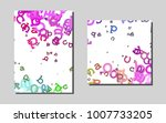 light multicolor  rainbowvector ... | Shutterstock .eps vector #1007733205