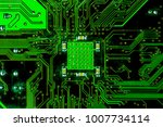 pcb circuit board background ... | Shutterstock . vector #1007734114