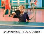 table tennis  child  playing... | Shutterstock . vector #1007739085