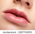 closeup macro portrait of... | Shutterstock . vector #1007742091