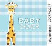 baby shower design   Shutterstock .eps vector #1007742247