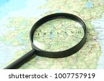close up of ireland under a...   Shutterstock . vector #1007757919