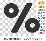percent icon with bonus bitcoin ...