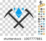 ethereum crystal mining hammers ...