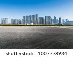 panoramic skyline and buildings ...   Shutterstock . vector #1007778934