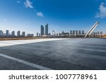 panoramic skyline and buildings ... | Shutterstock . vector #1007778961