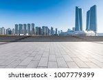 panoramic skyline and buildings ... | Shutterstock . vector #1007779399