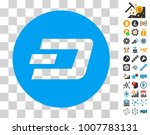 dash coin pictograph with bonus ...