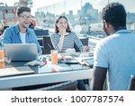 never bored together.... | Shutterstock . vector #1007787574