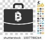 bitcoin accounting case icon...