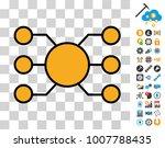 masternode nodes pictograph...