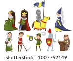 Medieval People Set  Character...