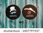 Vintage Wc Signs For Ladies And ...