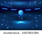 soccer night stadium   abstract ... | Shutterstock .eps vector #1007801584