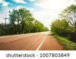 main street in town transport... | Shutterstock . vector #1007803849